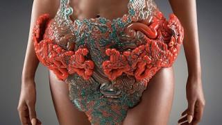3Dプリントで作られた衣類が何これすごい!キモい!!