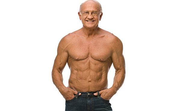 60歳のからフィットネスを始めてマッチョになったおじいちゃん