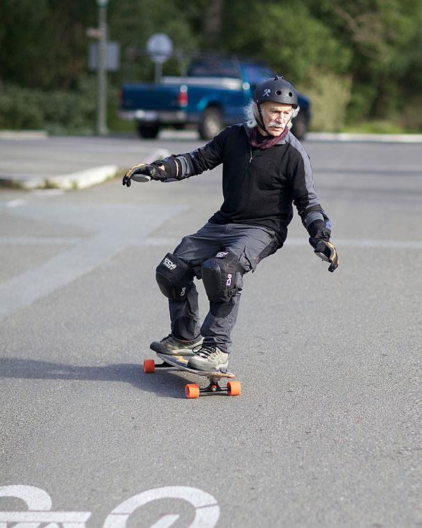 78歳のスケーターおじいちゃん