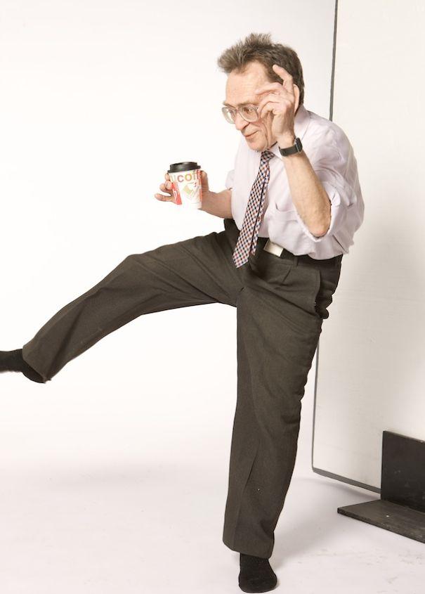 踊るのが大好きなおじいちゃん
