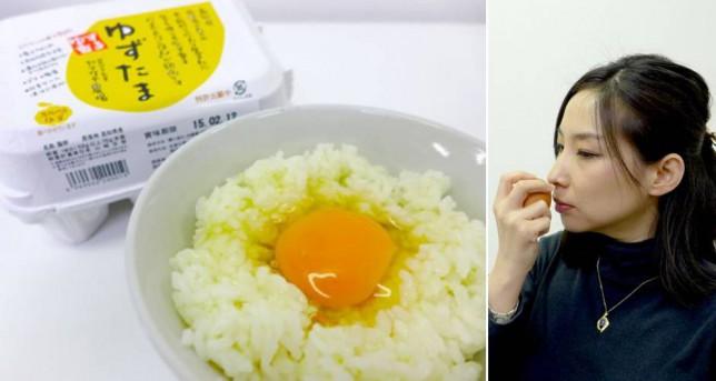 【食べてみたい】ゆずの味とにおいがする卵を日本が開発!