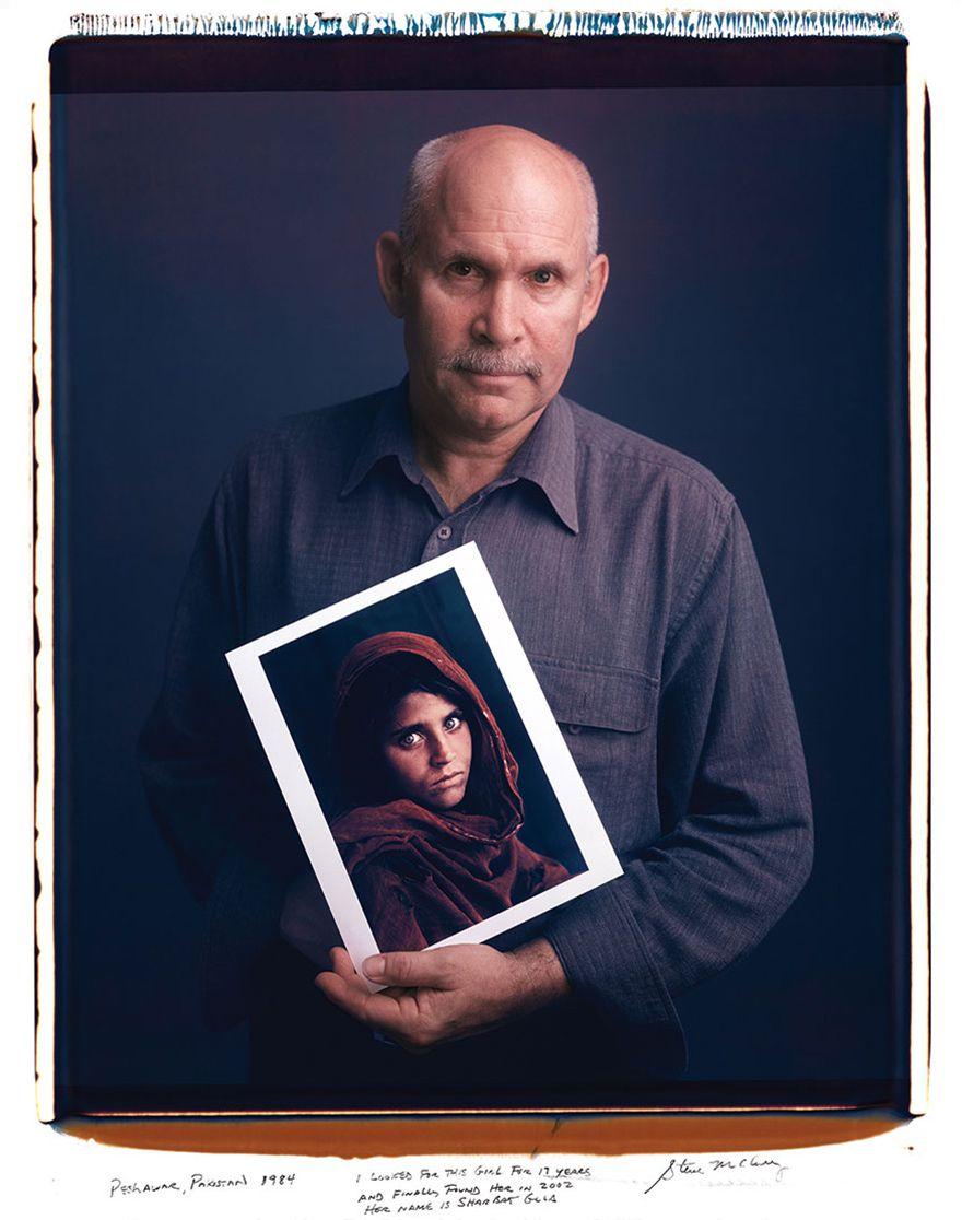 スティーブ・マカリー - アフガンの少女