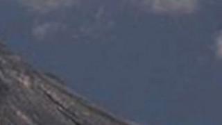 火山の噴火で馬型のUFOが目撃される!?