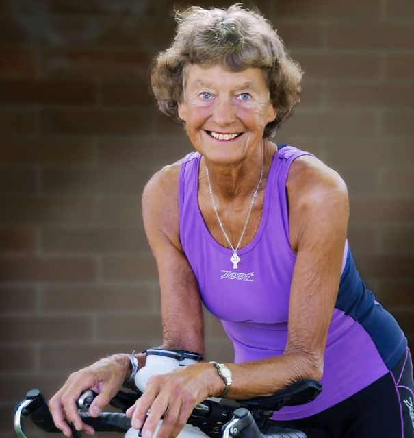 83歳のマラソンランナーおばあちゃん