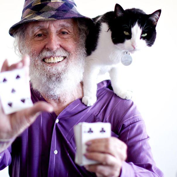 78歳のマジシャン