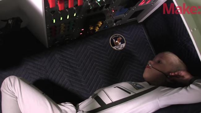 子供部屋に宇宙船を作ったら子供じゃなくても入ってみたくなる仕上がりに