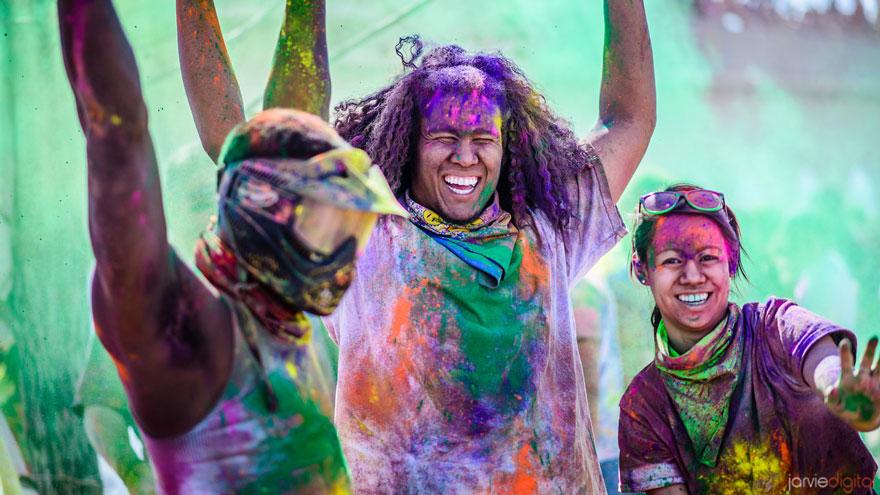 ホーリー祭 インド
