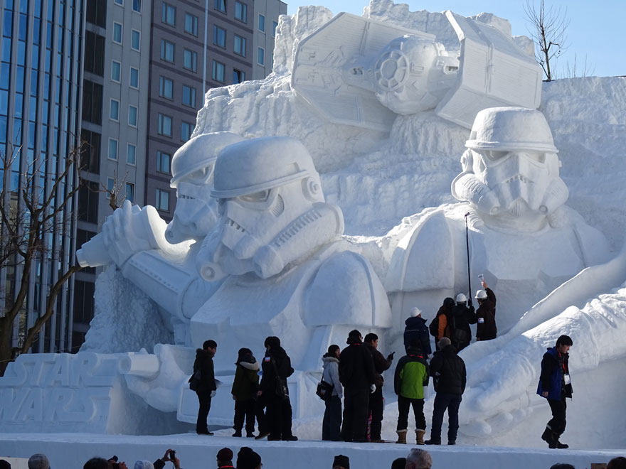 札幌雪祭り 日本