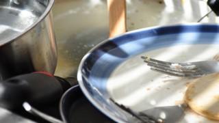皿洗いを極めるとトランプのようにお皿が扱える