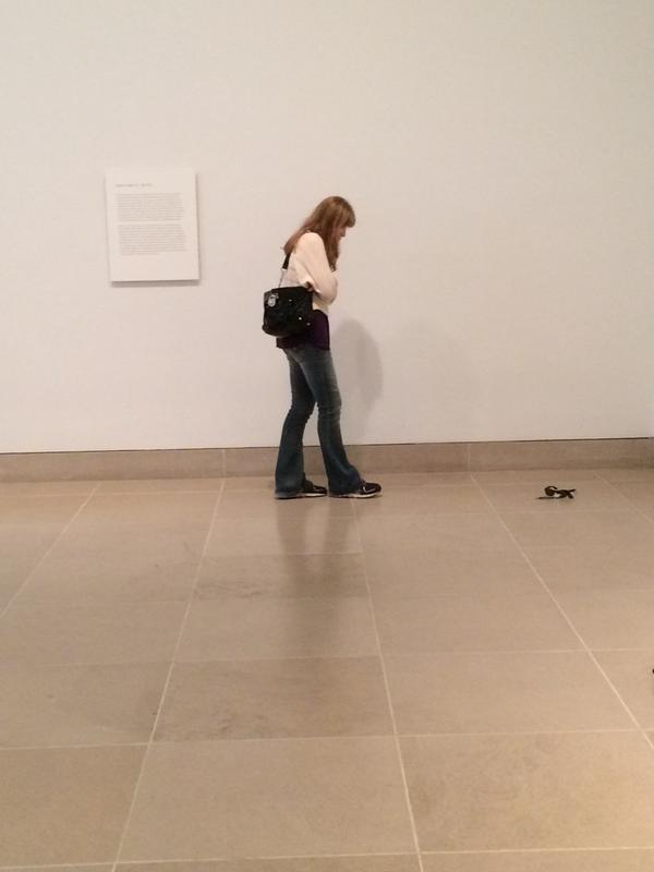 【チョロい】美術館でどっきりを仕掛けてみたら→みんな騙された