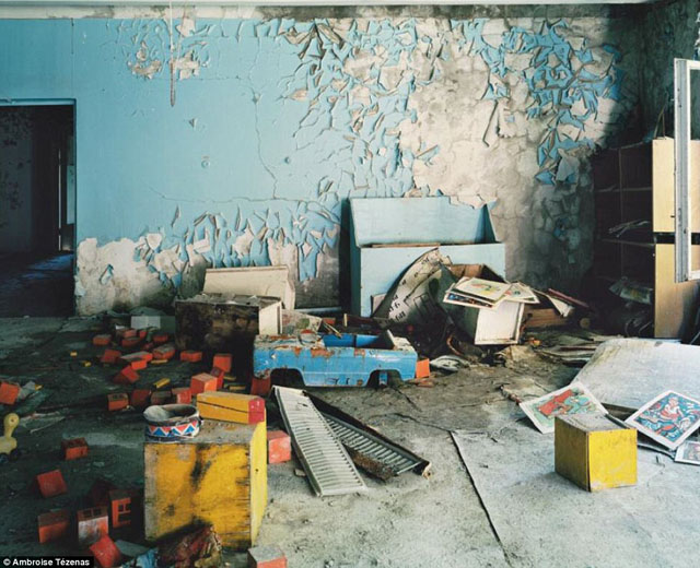 チェルノブイリの幼稚園