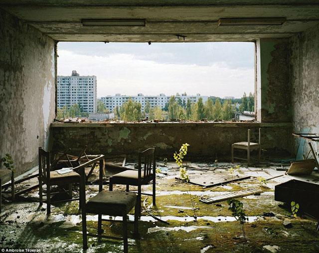 チェルノブイリのホテル