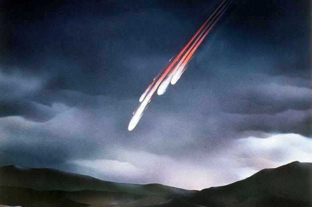 meteorite-fall