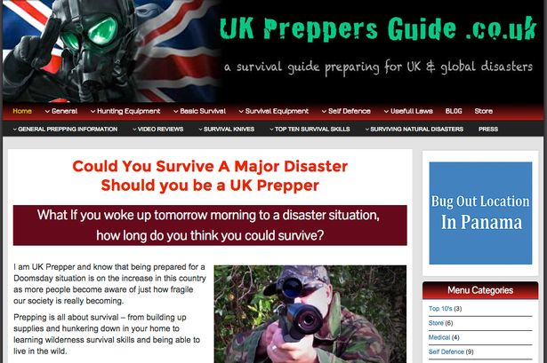 Preppers-homepage