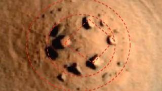 火星にストーンヘンジが発見される!自然物かそれとも…